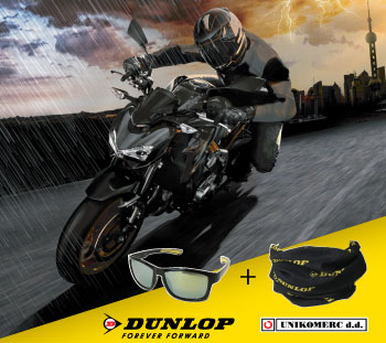 moto akcija Dunlop