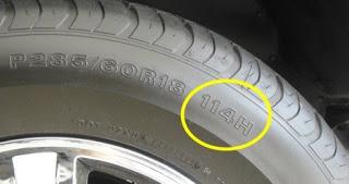 indeks brzine i nosivosti gume